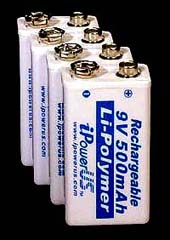Rechargeable AA and AAA NiMH Batteries