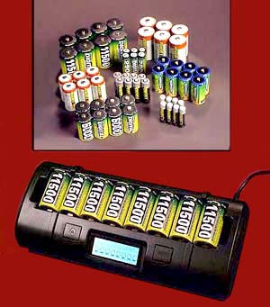 Rechargeable AA NiMH Batteries, Maha Rechargeable Batteries